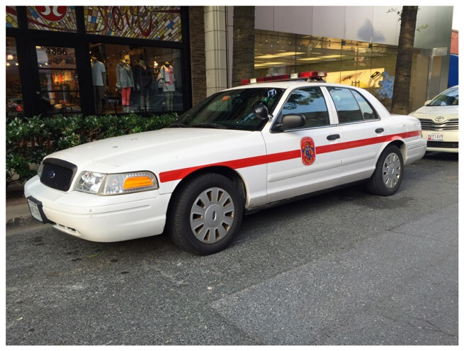 montgomery county fire ans rescue service - fire marshal car