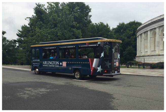 arlington national cemetery tours bus
