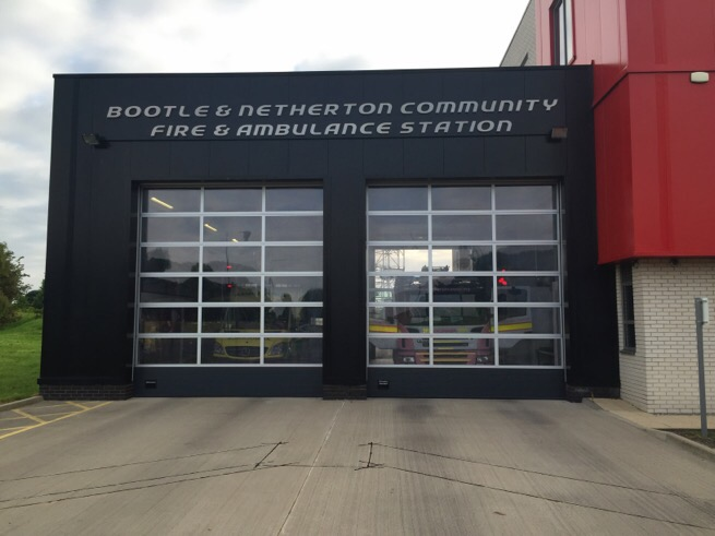 bootle and netherton fire station in netherton, merseyside